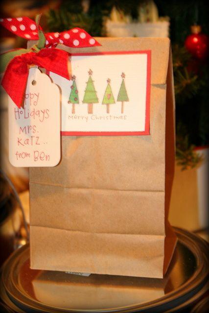Tree tag bag