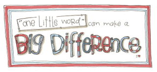 One little word banner 001