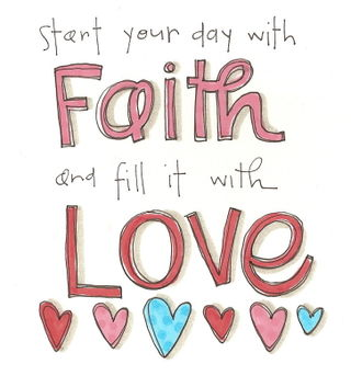 Start your day with faith