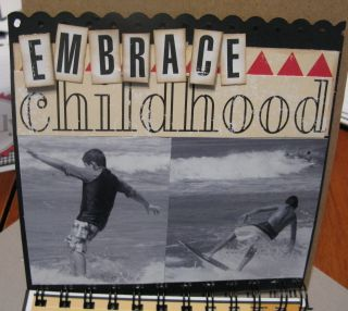 Reflections embrace childhood