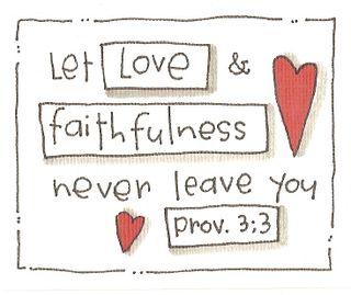 Verses let love