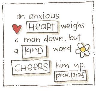 Verses-anxious heart