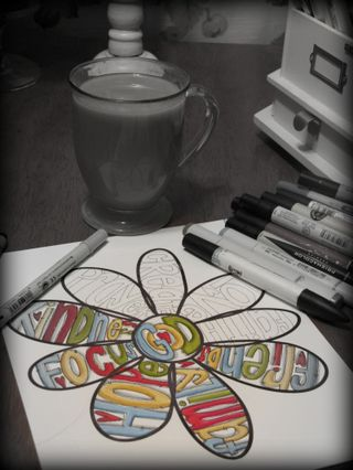 Coffee and a doodle