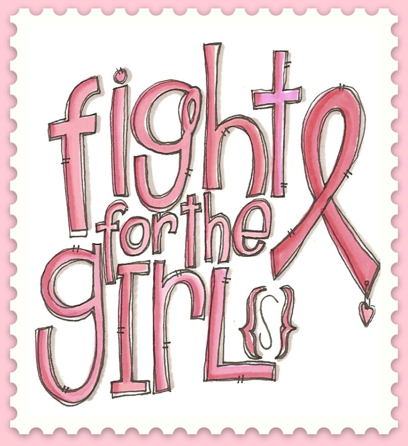 Fight for the girl stamp