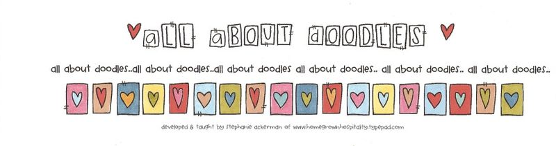 All about doodles banner
