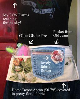 Gluegliderpro holster apron
