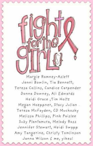 Fight for the girls line-up