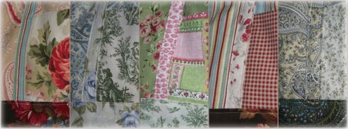 Shabby bag swatches