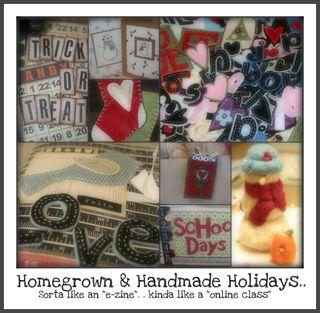 Homegrown & Handmade collage