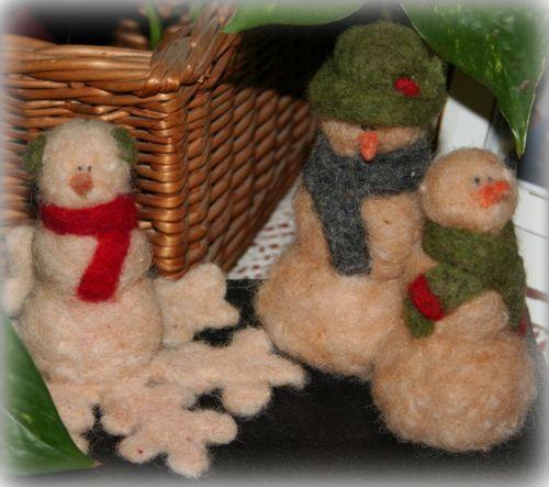 Snowmen family 001