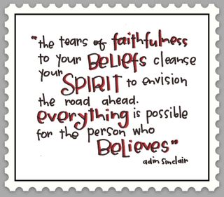 Lifes healing choices tears of faithfulness