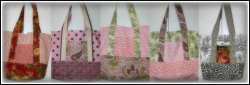 Shabby bag collage