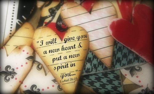 A new heart scripture
