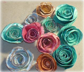 Paper roses by CDB