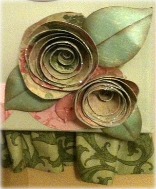 Paper roses by julie williams