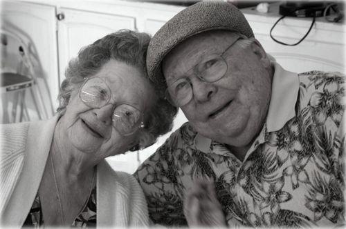 Grandma & pop