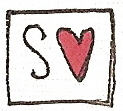 S with a heart