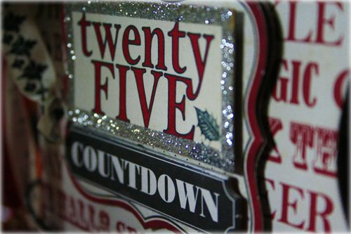 Twentyfive countdown