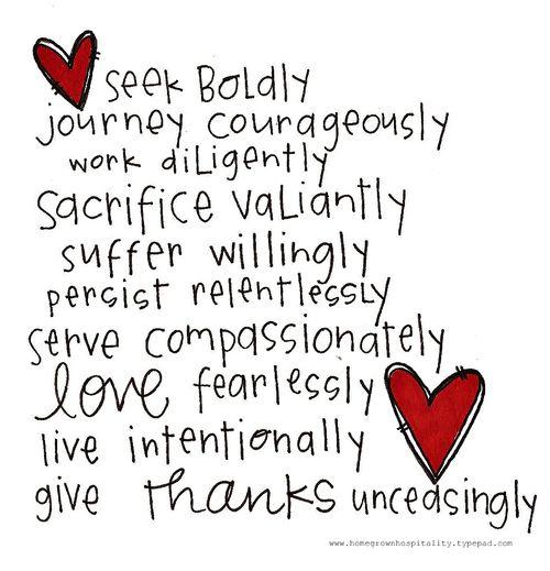 Seek Boldly