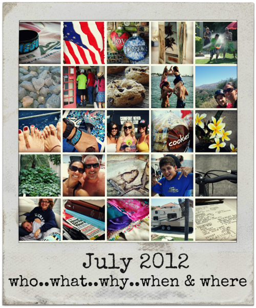 July2012collageframed