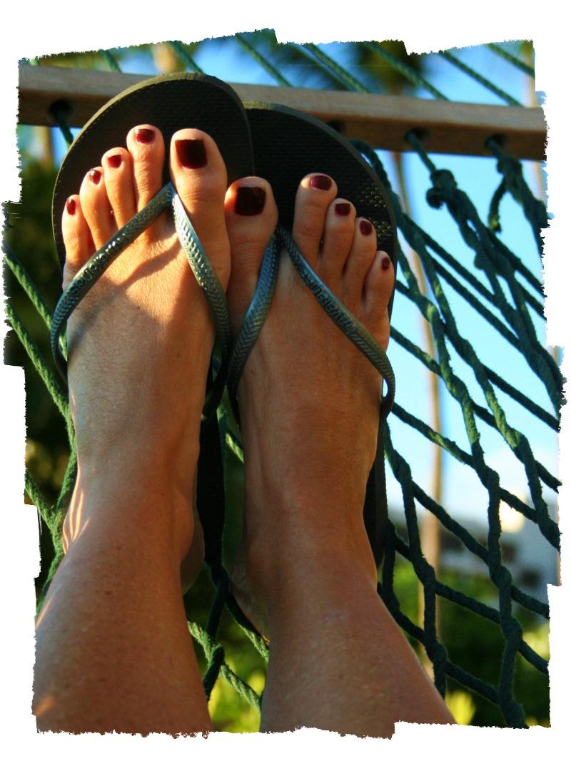 Hammock feetframed