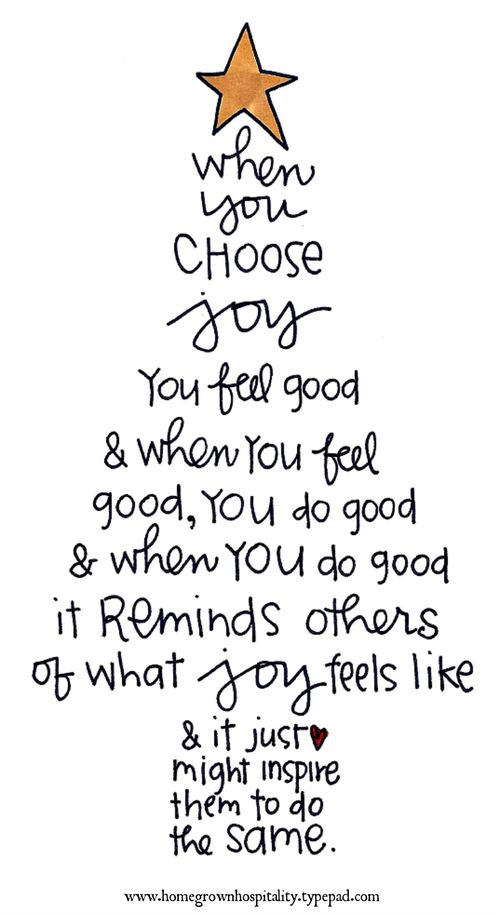 When You Choose Joy / Positive Quotes Monday // Powerful Positivity