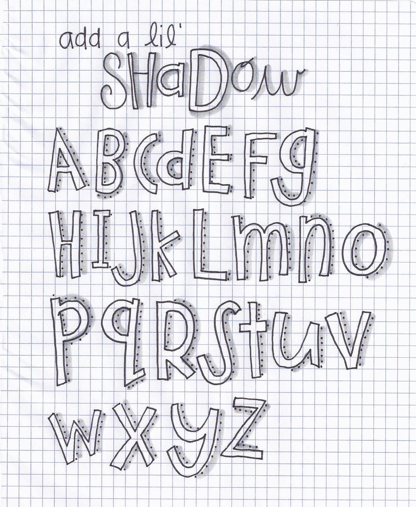 Add A Lil Shadow