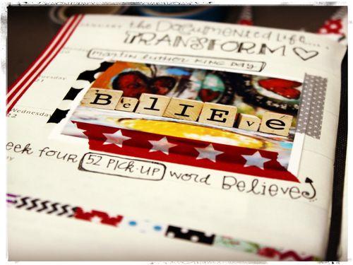Believe word