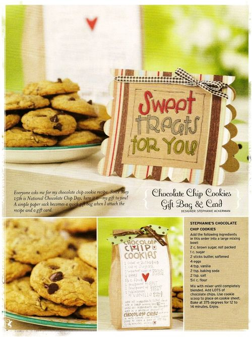 Chocolatechip cookies recipe