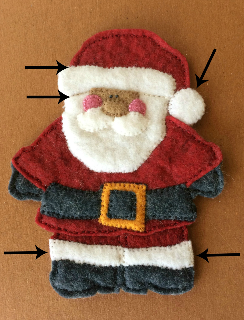 Stitchedsantafinish
