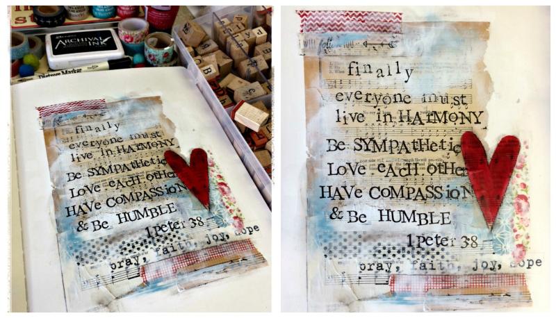 Artjournal Collage