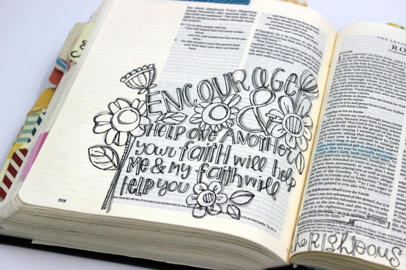 Encourage doodle