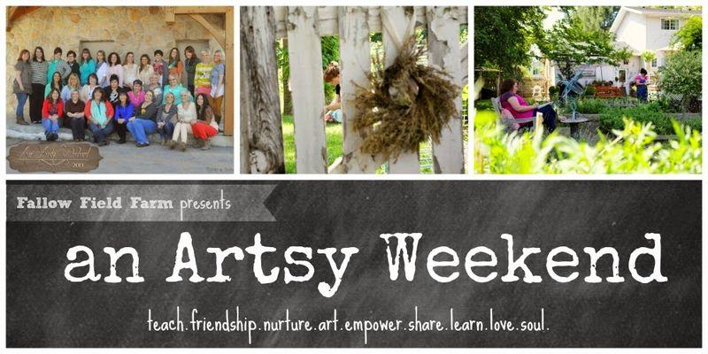 Artsy weekend blog header