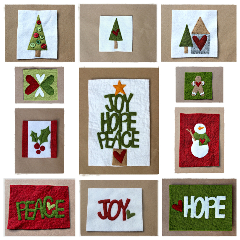 Stitched Christmas 2016 collage