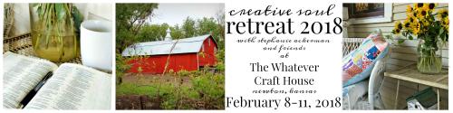 Creative soul retreat feb 2018
