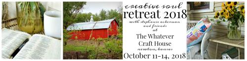 Creative soul retreat oct 2018