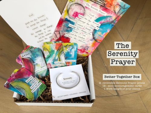 Serenity prayer box 1
