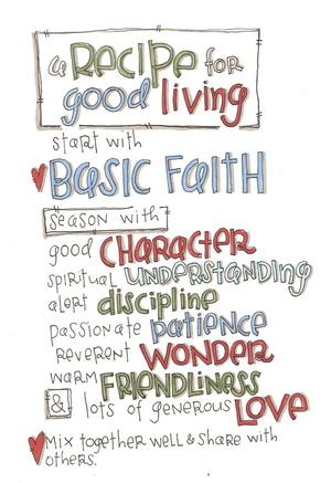 A_recipe_for_good_living