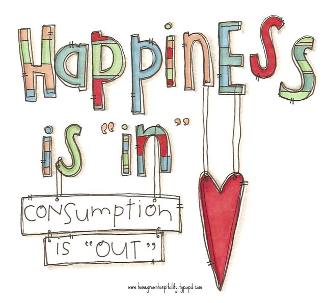 Happiness is in