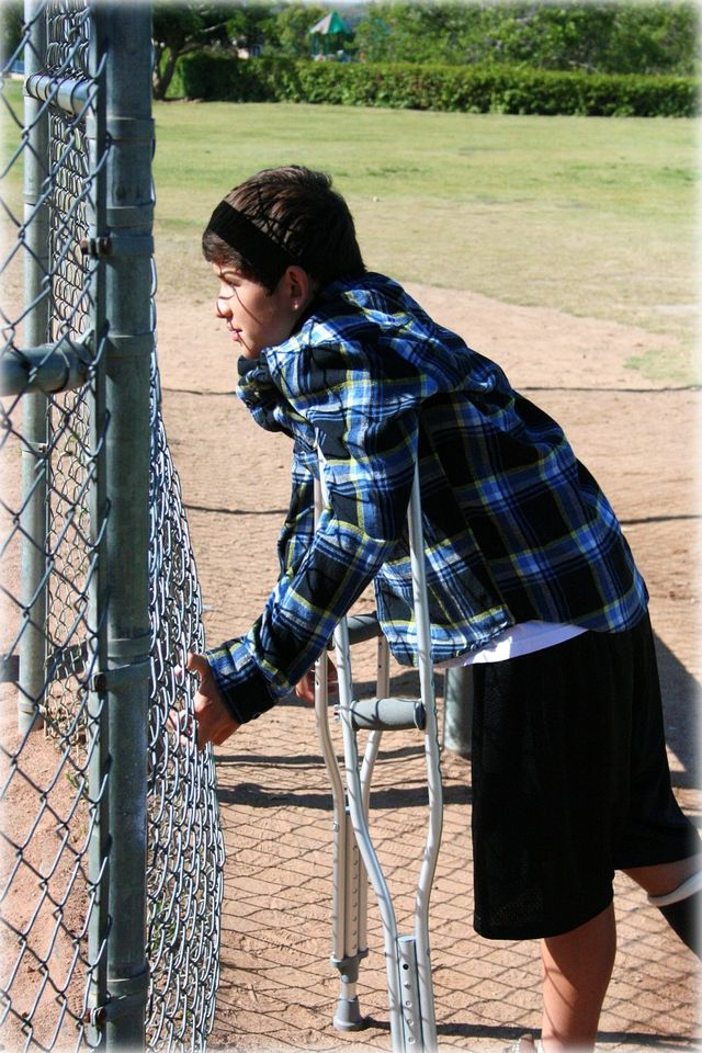 6th Grade Baseball Game